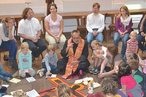 EFA-Gottesdienst in der Kinder- und Familienkirche