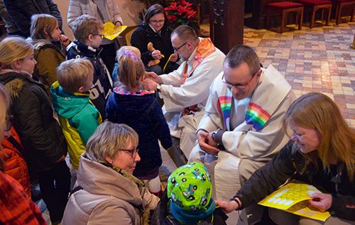 Tauferinnerungsfeier im Nikolauskloster